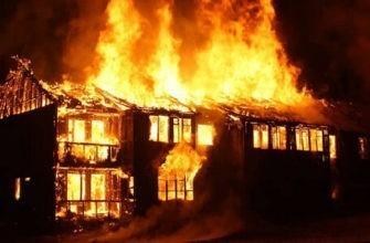 На пожарах в Иркутской области гибнут дети